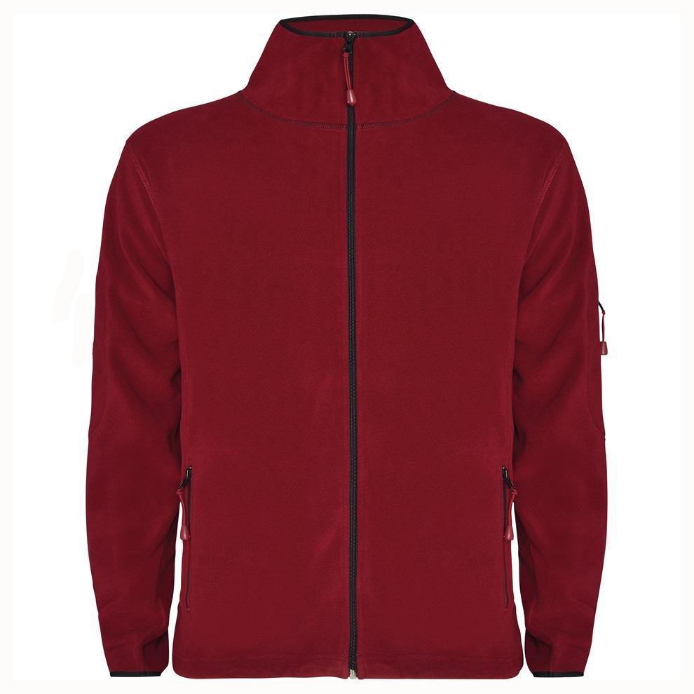 """Мъжки червен полар с лого на ТД """"Боерица"""""""