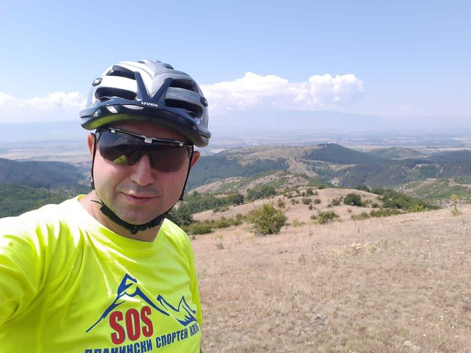 SOS планински спортен клуб неоновожълто тениска